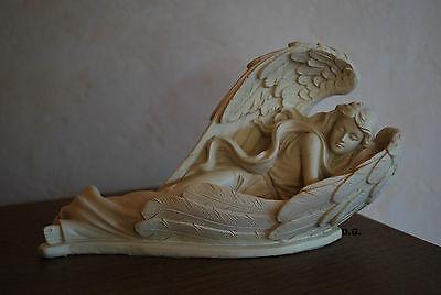 Sinnvoll Engel Schlafend In Ihren Flügel Grab Dekoration Garten Deko Skulptur Figur Geeignet FüR MäNner, Frauen Und Kinder