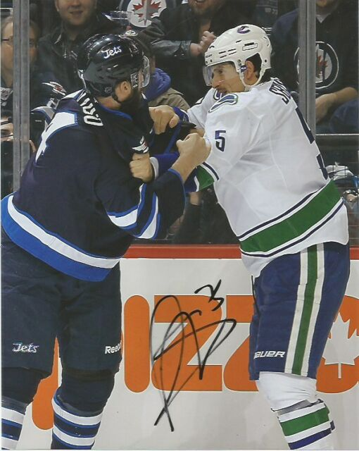 Vancouver Canucks Luca Sbisa Autographed Signed 8x10 NHL Photo COA