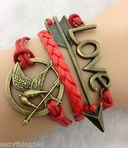 JoyFul-Love-Snitch-Bracelet-Charms-Mockingbird-Arrow-Adjustable-Fit