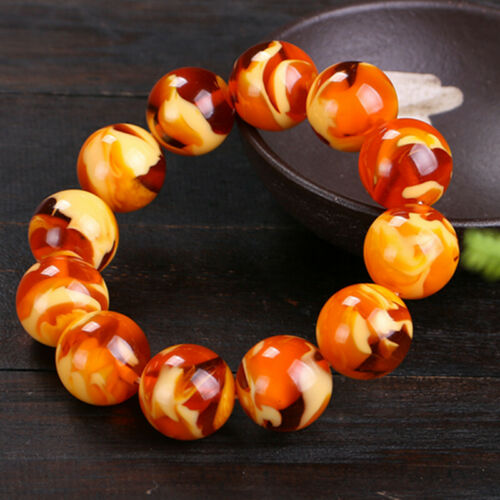 Amber Bracelet with honey honey and wax for men and women