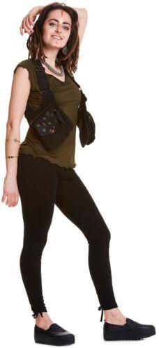 verde Marsupio Marsupio marrone Borsa di Cintura Bumbag l'anca Nero senape di utilità Cintura per festival qYa0OY