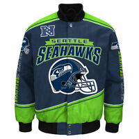 Seattle Seahawks Nfl Enforcer Jacket - Size Adult 3xl Free Ship