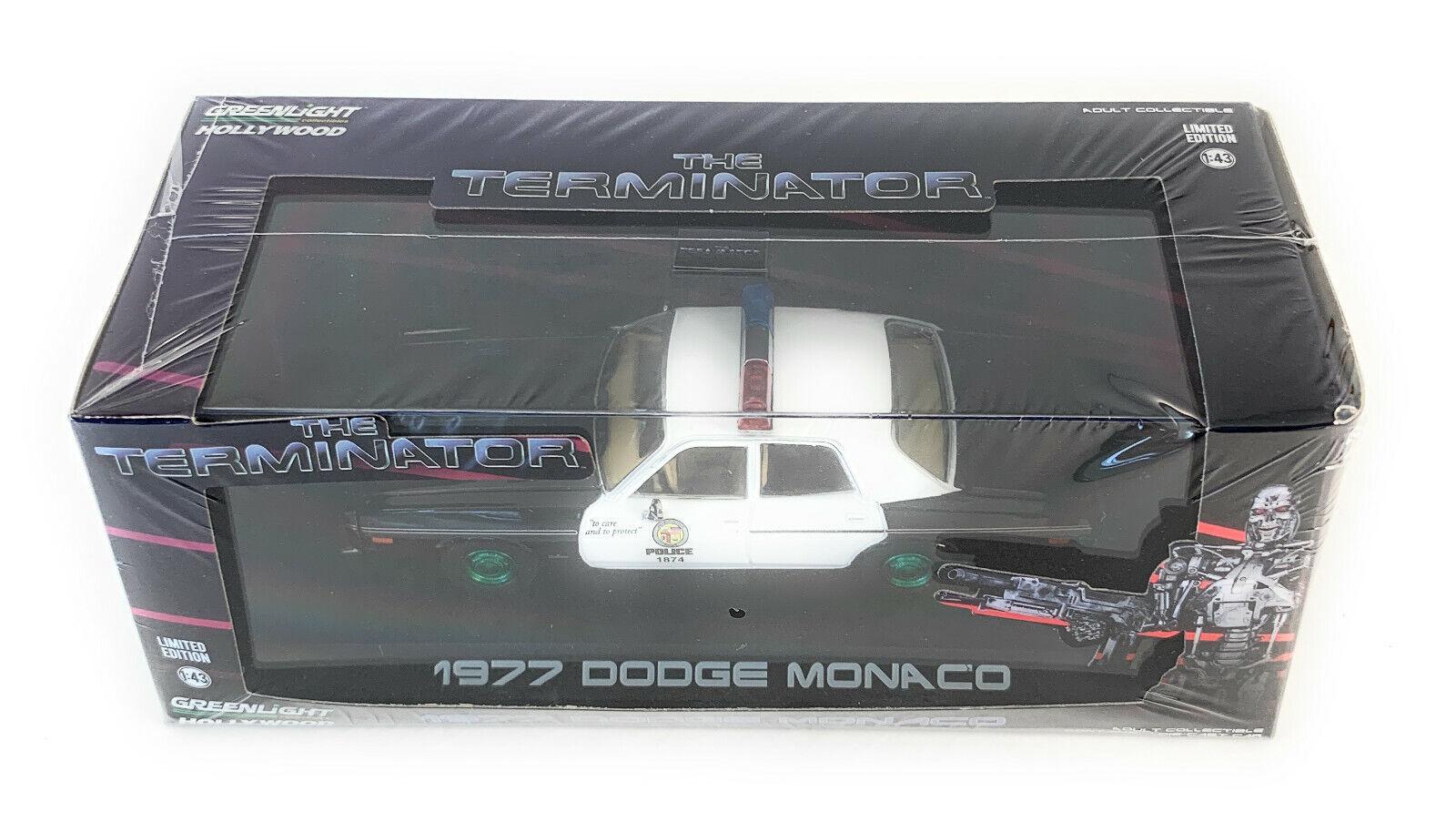 sorteos de estadio verdelight 1 1 1 43 1977 Dodge Monaco policía Metropolitana Terminator Chase 86534  bajo precio