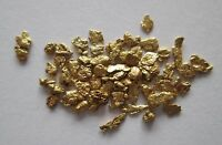 1.383 Grams of 14 Screen Natural Alaska Placer Gold Nuggets Flakes Fines, Q 4680