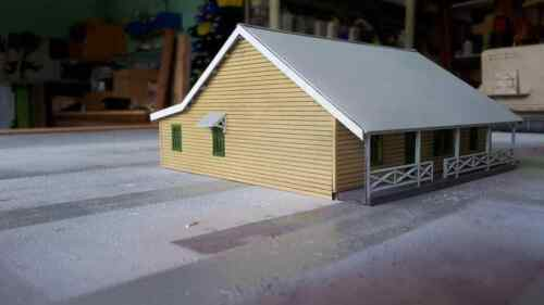 KIT Paterson Station masters house Ho scale 1:87
