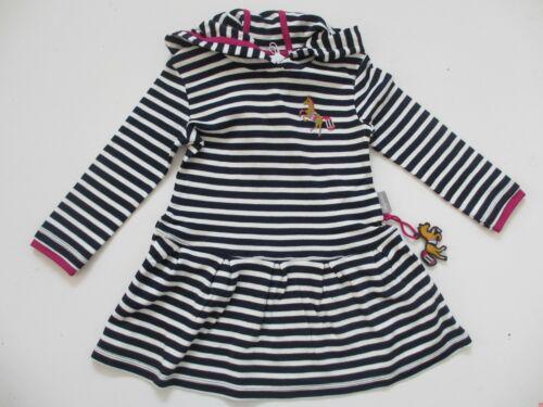 Sigikid Kleid Maritimes Kleid 164532 blau NEU Jersey BioBaumwolle
