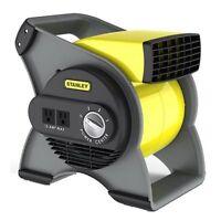 Industrial Air Blower High Velocity Floor Fan Toilet Bathroom 3 Speed Cooler