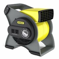 Industrial Air Blower High Velocity Floor Fan Toilet Bathroom 3 Speed Cooler