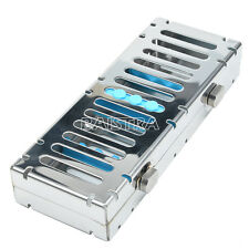 Dental Sterilization Cassette Rack Tray For 5 instruments Stainless steel DE
