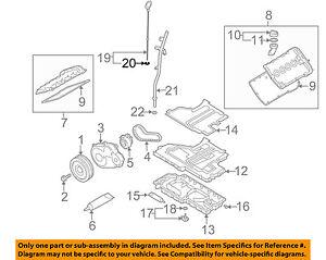 vw volkswagen oem 03 04 passat engine oil dipstick o ring n90039603 rh ebay com Volkswagen Jetta Engine Diagram 1974 VW Engine Diagram