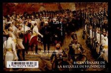 Abzug Garnison des Generals Barbanègre aus Festung (1815). Block.Frankreich 2015