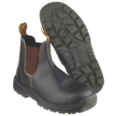 Blundstone 192 Brown Leather Sbp Industrial Safety Chelsea Boot & Midsole FüR Schnellen Versand