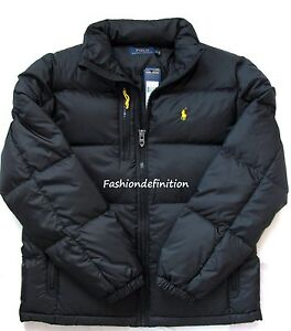 Image is loading New-Polo-Ralph-Lauren-Men-Polo-Black-Winter-