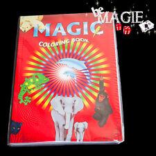 Livre de coloriage magique - petit format  -  Magic coloring book Small