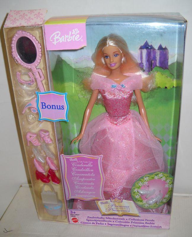 En Caja Original Mattel Barbie Cenicienta Princesa extranjeras Colección