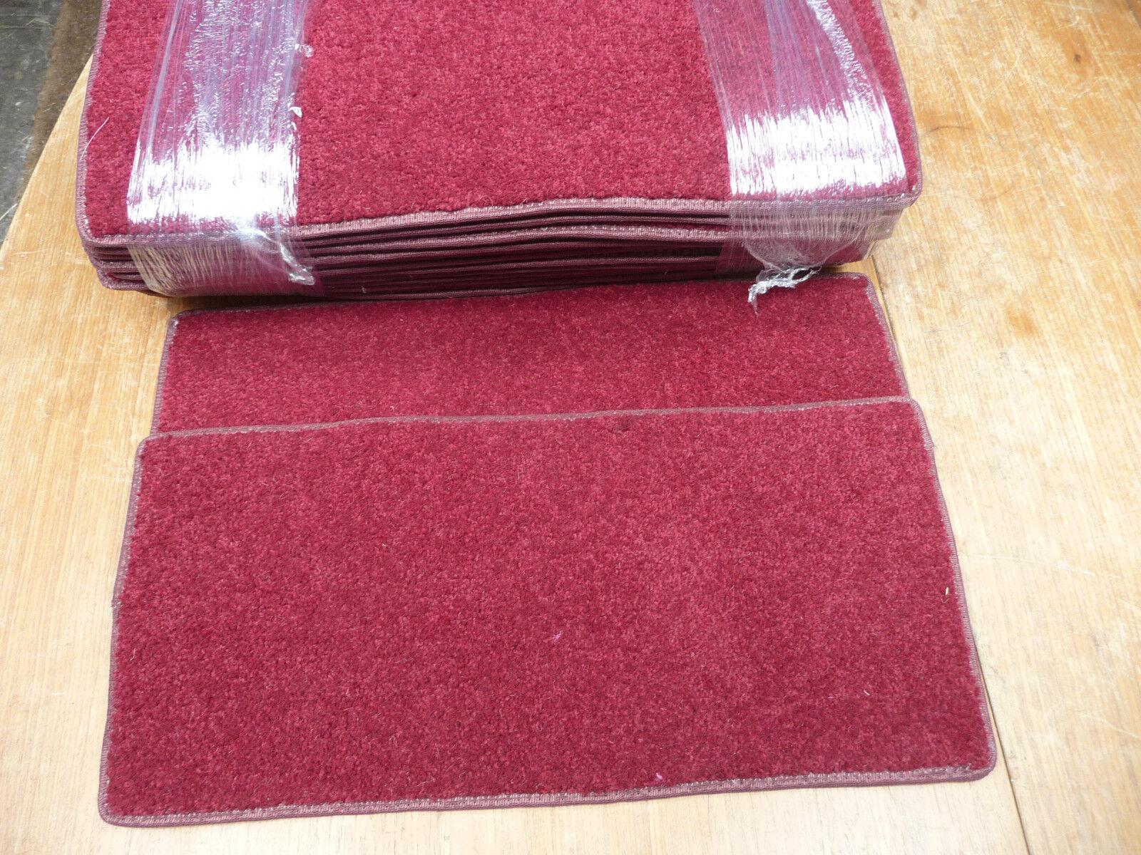 15x PASTIGLIE SCALA pedate BN a buon mercato ricco colore ROSSO  STOCK SVENDITA   1822