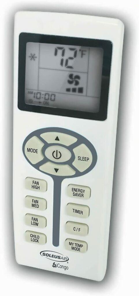 Soleus Air 12000 BTU 115-Volt Window Air Conditioner with Remote Control   Ebay