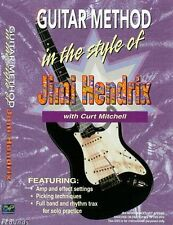 """""""GUITAR METHOD IN THE STYLE OF JIMI HENDRIX"""" DVD-TEACH BRAND NEW SEALED ON SALE!"""