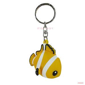 Yellow Fish In A Bag Keyring