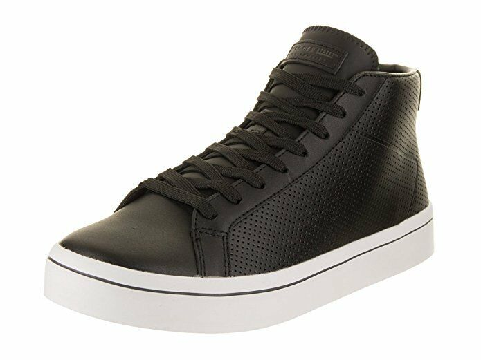 SKECHER MEN STREET HI-LITE-POINT-A ATHLETIC/FASHION SHOES Price reductionBLACK/WHITE Cheap and beautiful fashion