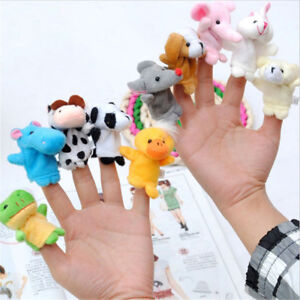 10Pcs-Pack-Baby-Kids-Finger-Animal-Educational-Story-Toys-Puppets-Cloth-Plush