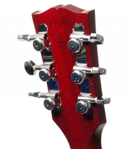 Hipshot 3+3 Closed GripLock Guitar Locking Tuner Upgrade Kit