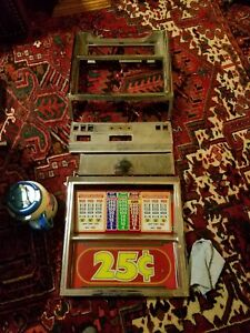 Bally 25 Cent Slot Machine Parts