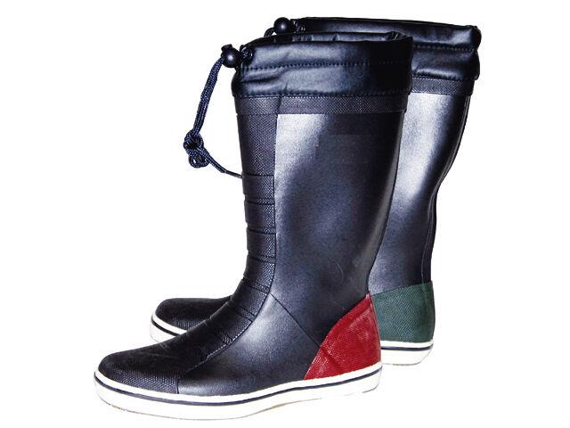 Talamex Gummistiefel Stiefel- Segelstiefel,100%Naturkautschuk,Anti-Rutsch Sohle