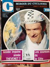 Miroir du Cyclisme n°228 de Mars 1977 / Thevenet Poster Albert Zweifel