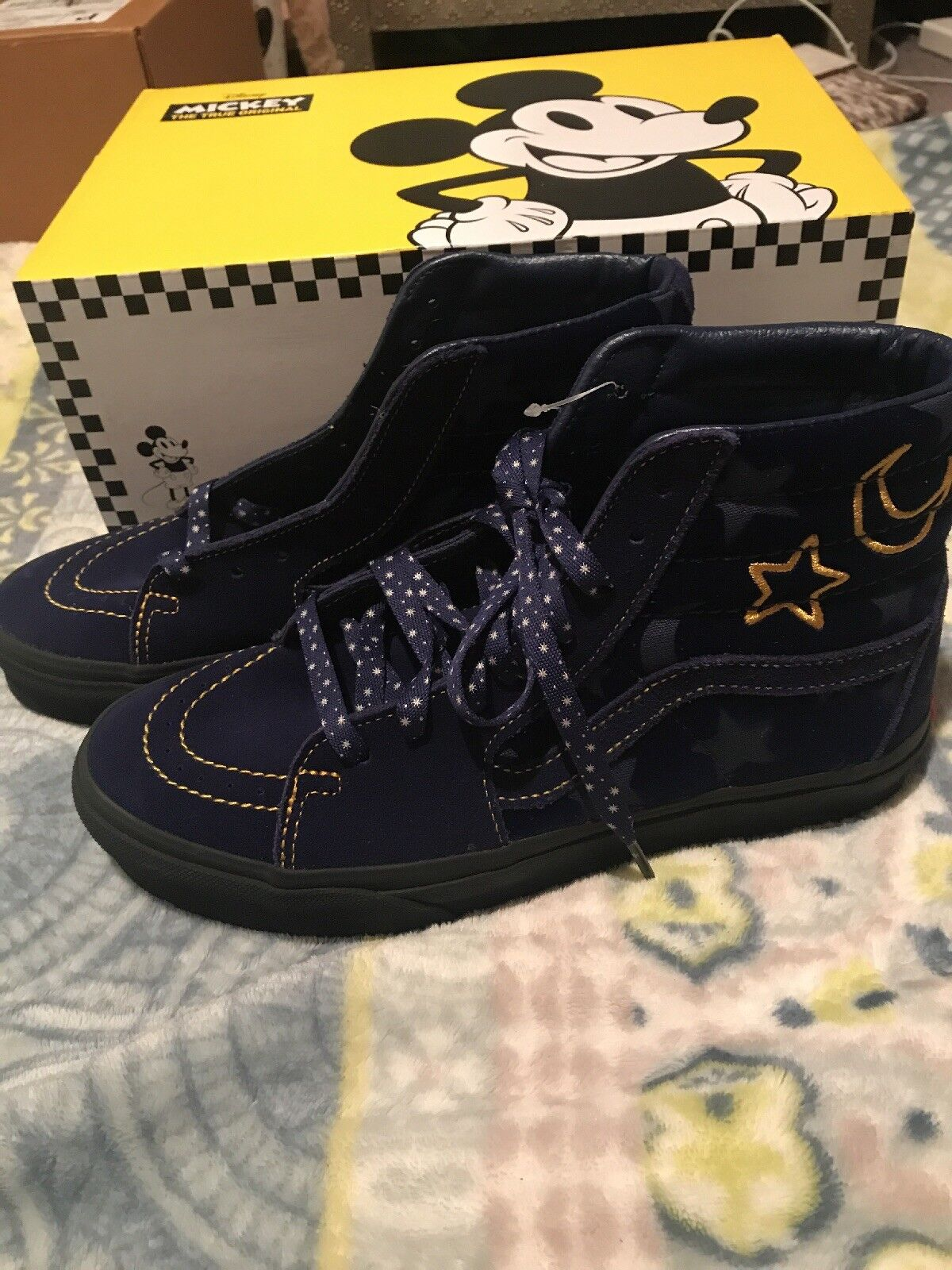 82960e355a Disney Vans Mickey Sorcerers - Hi Sneakers Men's 6 Women's 7.5 Apprentice  SK8 ntkqmx2289-Athletic Shoes