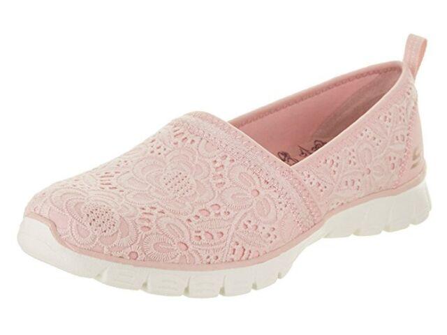 Women Skechers EZ Flex 3.0 Swift Breeze Slip on Sneakers shoe 23478 Light Pink