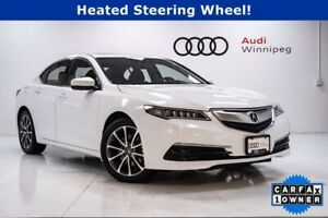 2017 Acura TLX V6 Tech AWD w/Navigation *Low KM*