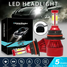 4 Sides 9007 Hb5 Led Headlight Bulbs Kit High Low Dual Beam 6500k Super White Fits Plymouth Breeze