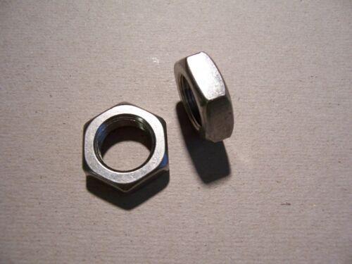 Sechskantmuttern DIN 439 V2A rostfrei M10 Linksgewinde 10St