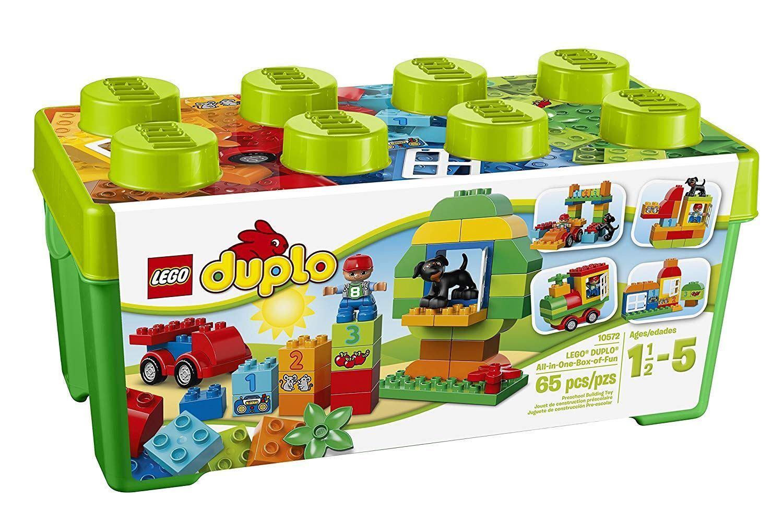 LEGO 10572 DUPLO Box of Fun with Storage Box All-in-1 Creative Building Bricks