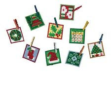 Advent Trilogy Set Two Beaded Cross Stitch Ornaments Kit 2019 Mill Hill MH191912