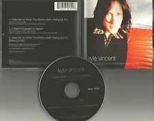 Candy KYLE VINCENT Wake me Up w/ RARE MIX USA CD Single Bay City Rollers 1997
