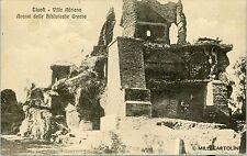 TIVOLI - Villa Adriana - Avanzi delle Biblioteche Greche - 1911