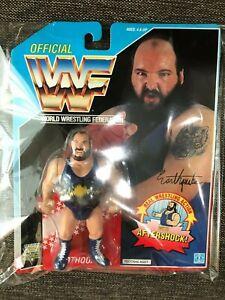 WWF-WWE-Earthquake-US-Blue-card-1992-NEW-Japan-Import-Hasbro-Official-Figure-DHL