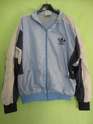 Veste Adidas Trefoil Nylon 90'S Bleu ciel