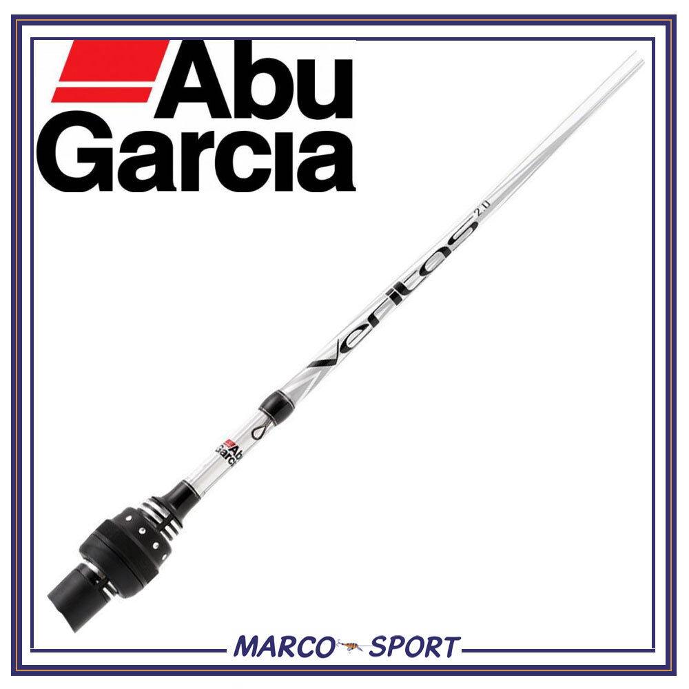 Canna da pesca Abu Garcia Veritas spinning in carbonio monpezzo trossoa lago fiume