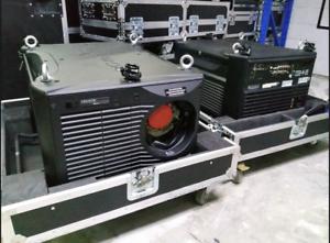 Christie Roadster HD18K 18000 lumen Large Venue Projector w//lens EXCELLENT