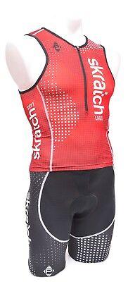 Donkey Label skratch LABS Short Sleeve Cycling Kit Women MEDIUM Black Road Bike