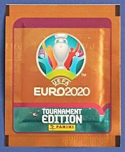 Panini UEFA EURO 2020 Tournament Edition Orange UK Promo Tüte / Packet