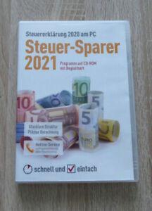 Steuer-Sparer 2021, Steuererklärung 2020 am PC, Programm ...