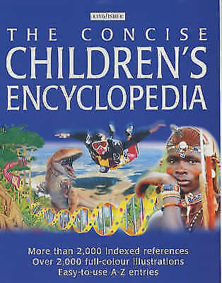 """AS NEW"" , The Concise Children's Encyclopedia, Hardcover Book"