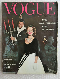 Vogue December 1957- January 1958 (French Edition)