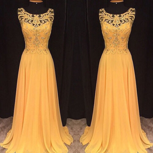 Women Lace Ball Gown Prom Long Dress Evening Wedding Party Formal Cocktail Dress