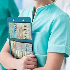 Nursing Edition Clipboard Folding Pocket Reference Clipboard 875115