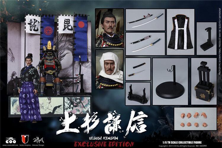 1 6 COOmodellololo SE044 Empire  series Diecast Uesugi Kenshin cifra Deluxe  Ver.  prezzi bassi di tutti i giorni